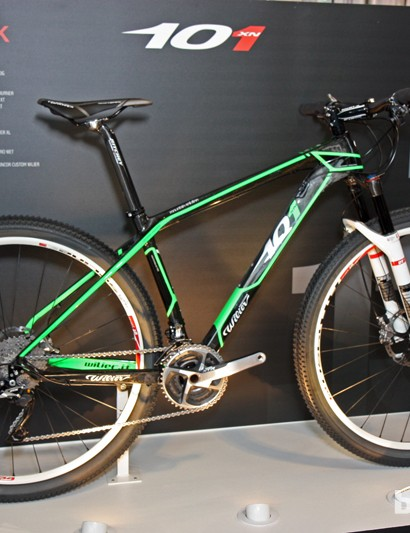 New from Wilier Triestina for 2013 is the 101 carbon 29er hardtail