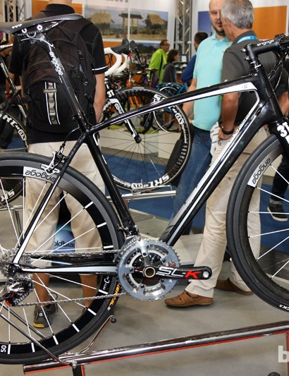 Engage now offers the new e11 road frame, using design cues borrowed from its made-in-Germany AX-Lightness big brother but with construction done in Asia