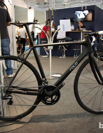 This Rolo Limited Edition model from A2J supposedly weighs just 640g for the bare frame yet is claimed to be stiffer than a Specialized S-Works McLaren Venge. The complete bike as shown is a feathery 4.55kg (10.03lb) but it'll cost you 18,000 Euros. Ouch