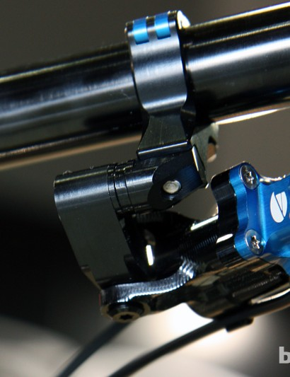 The CNC-machined Acros A-GE hydraulic shifter now incorporates more adjustability than before