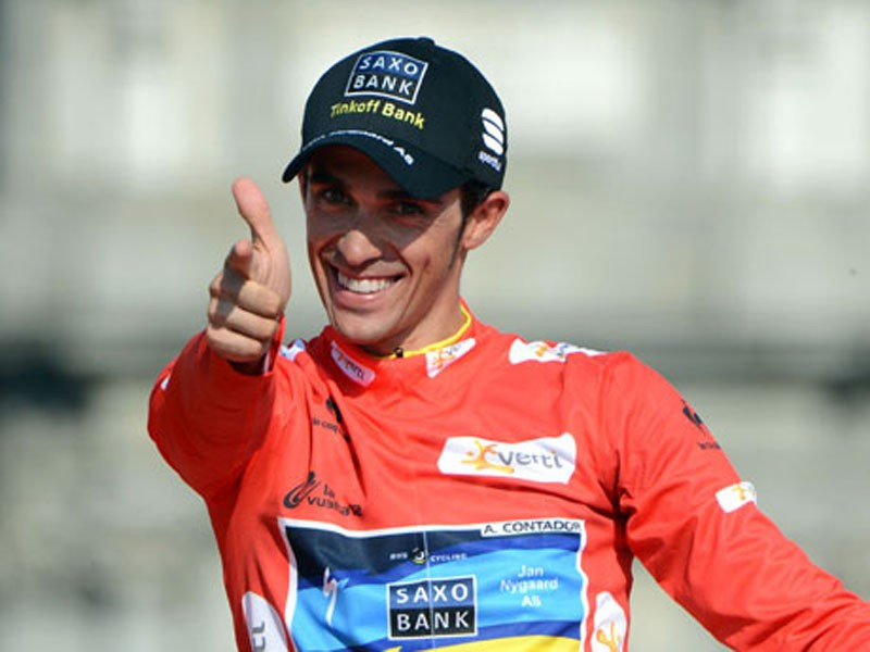 Alberto Contador claimed his fifth grand tour win on Sunday after finishing atop the overall standings of the Vuelta a Espsna