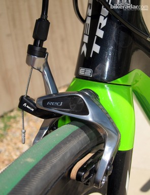 The new brakes are lighter and sleeker but more importantly, also generate more power and have a smoother, lighter feel at the lever. Proper setup is critical, however, as even a so-so adjustment can make the levers feel spongy