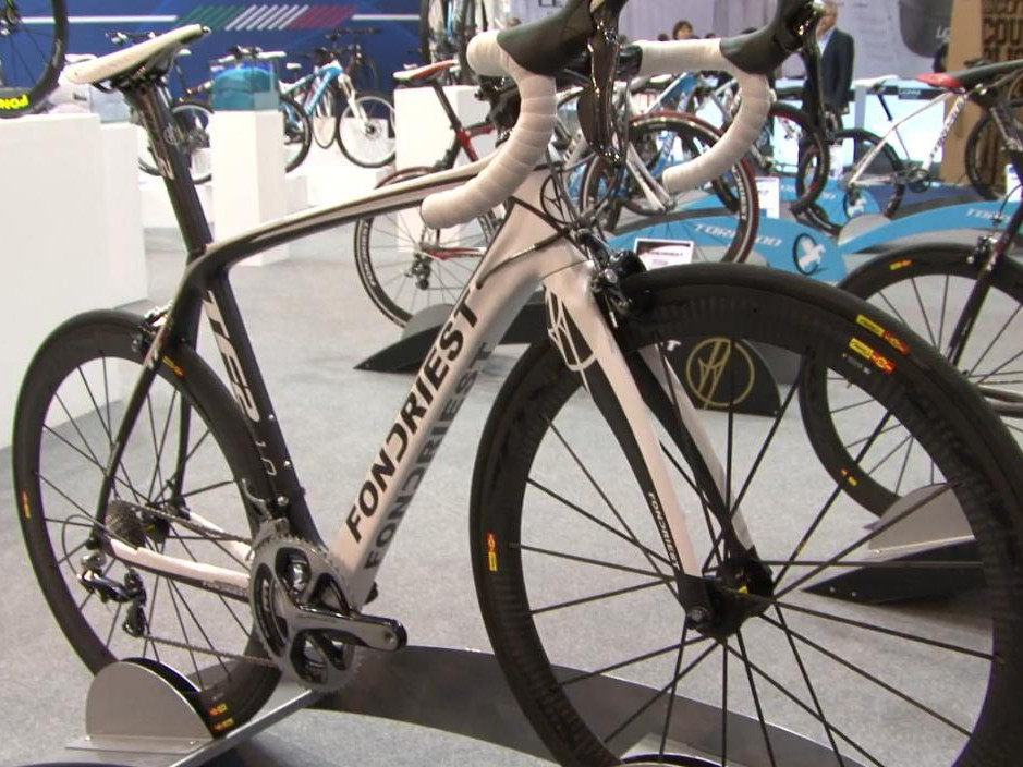 The TF2 is Maurizio Fondriest's 'baby', having being involved closely in its design and testing