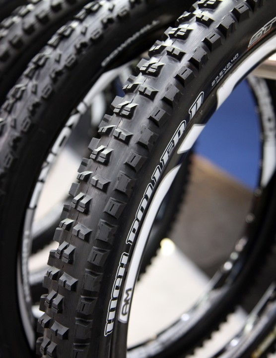 The High Roller II will be one of four tread designs Maxxis will offer in 27.5in diameters for 2013
