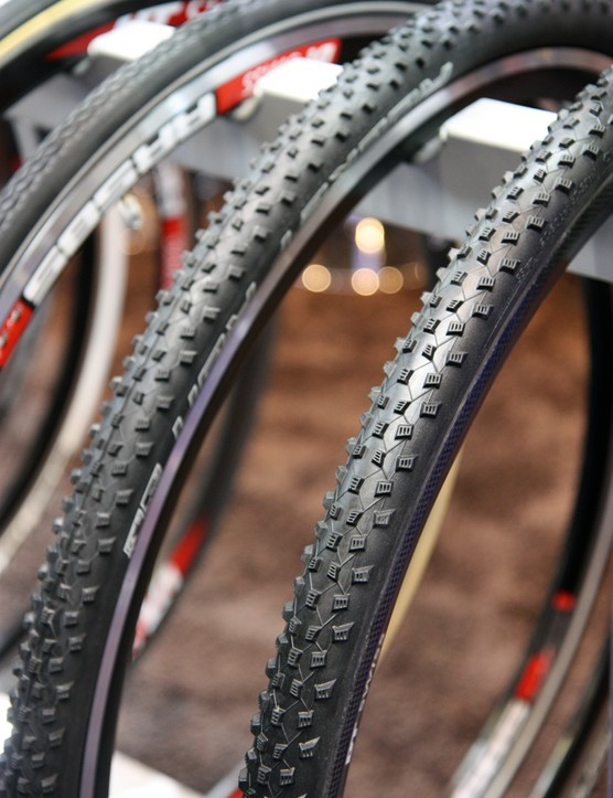 Schwalbe has added the more open Rocket Ron tread pattern to its selection of 'cross tubulars for 2013