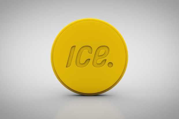 The ICEdot sensor communicates with a wearer's smartphone