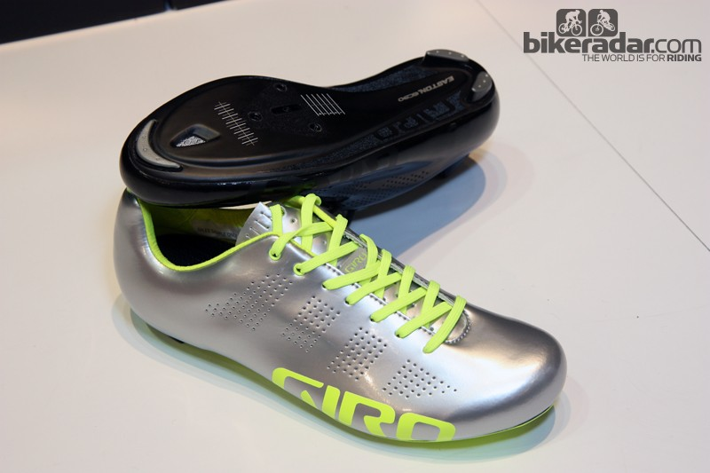 Keen-eyed viewers may have noticed American Taylor Phinney riding these new ultralight lace-up Giro Empire shoes during this summer's London Olympic Games
