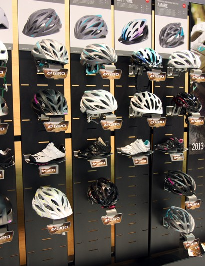 New from Giro for 2013 is an impressively comprehensive collection of women's helmets and shoes