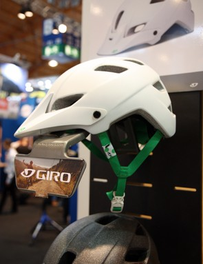 Giro cites details such as the color-contrast straps, the polka dot branding detail, and even the color-matched buckle as distinguishing visual cues for the women's Feather helmet