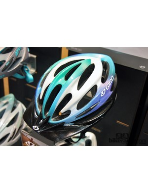Giro has resurrected the old Pneumo model for 2013. The women's version, called Sapphire, is pictured here