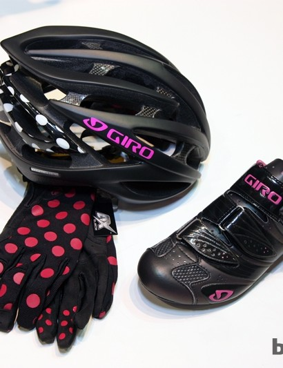 Giro's new women's collection is intentionally designed so there are multiple matching elements