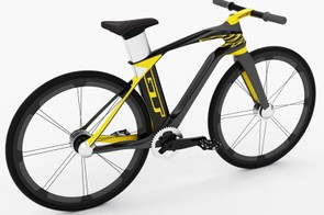 When there's no cargo to haul, the GT Milenio QR converts into a lightweight urban commuter