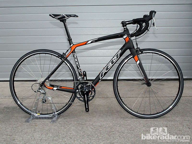 The Z6 (£1,399) is the entry-level carbon sportive bike from Felt