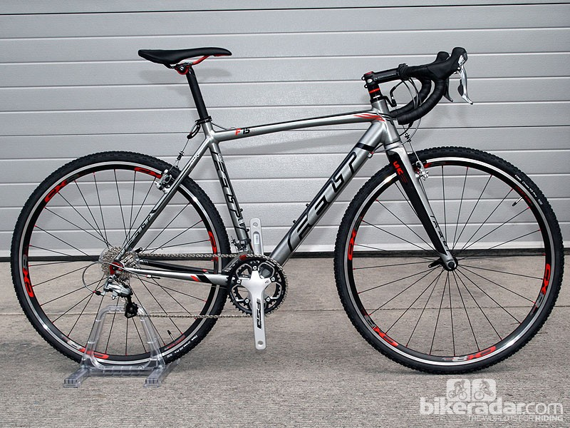 The F series cyclocross range gets two budget bikes for 2013, including this F75X (£1,199)
