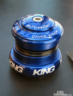 The new Chris King InSet 8 headset is designed for 1 1/8-to-1 1/4