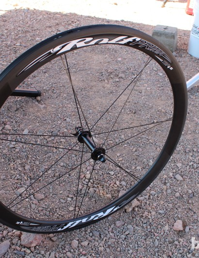 The TdF4SL is a $2,199 carbon tubular wheelset