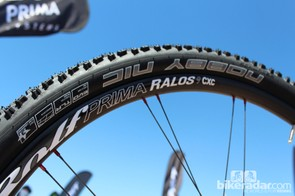 The Ralos 9CXC is $1,799, with 24 spokes front and rear