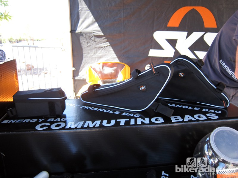 SKS has expanded its bag line into frame-mounted models
