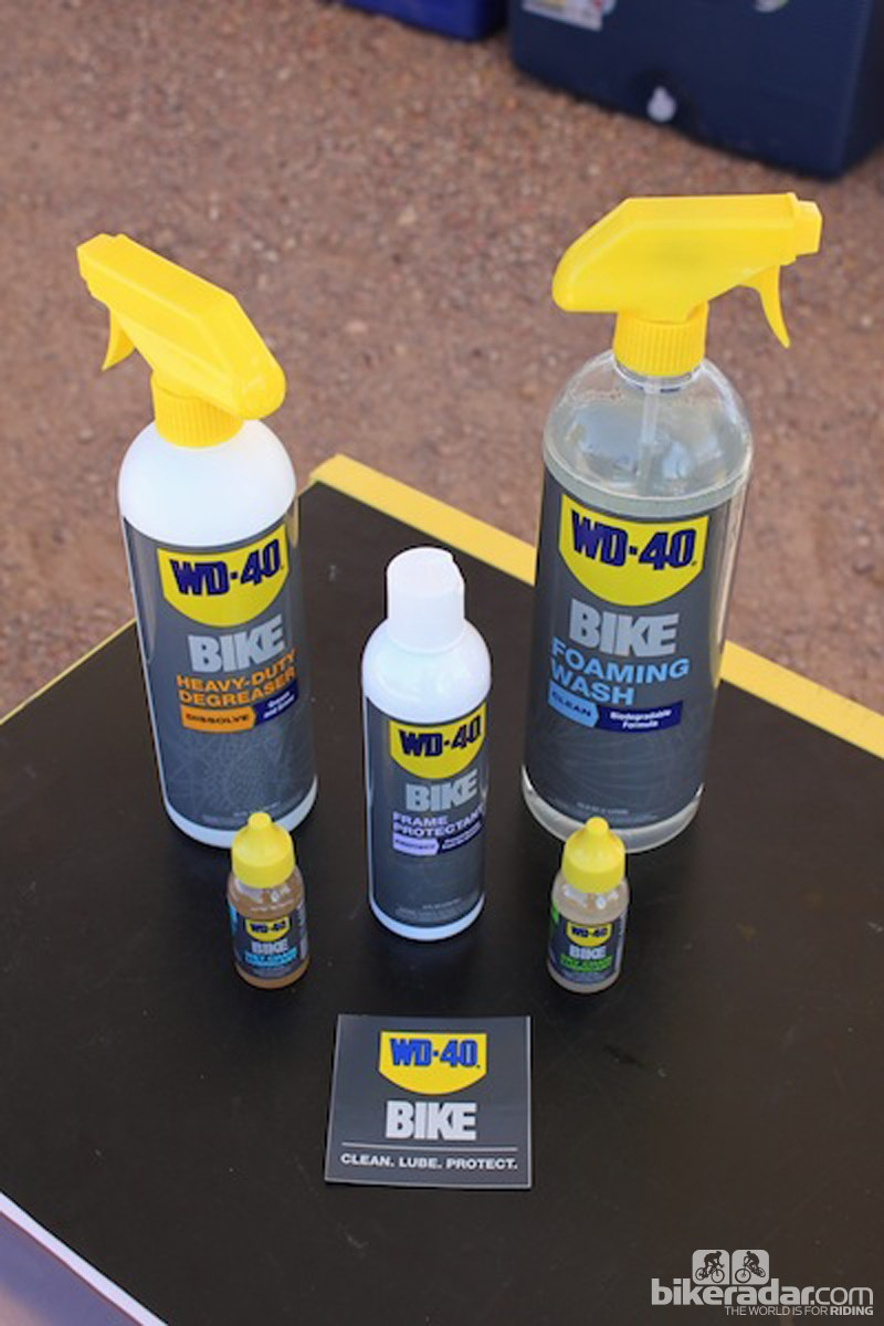 WD-40's line of bike-specific products will be available this fall