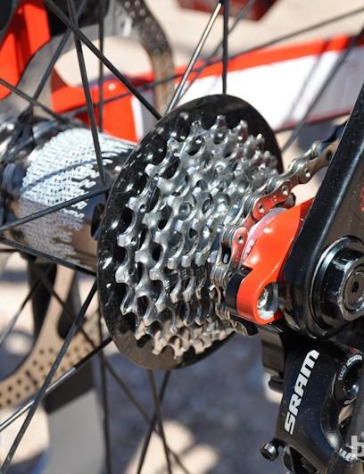 An 8-speed? In 2012? On a World Cup-winning bike?