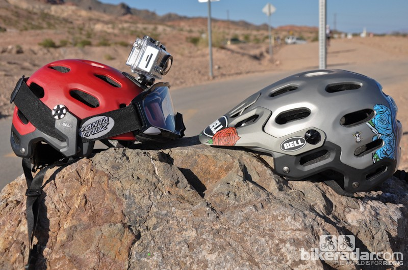 Bell's new Super helmet is designed with the enduro crowd in mind