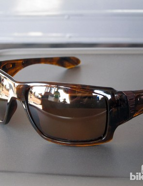 The new Oakley Big Taco sports a big, squared-off set of lenses for US$120-180.