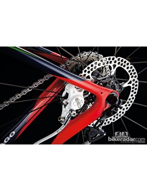 Disc brakes are still in their infancy on the road