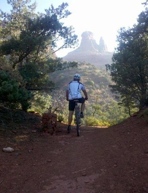 View from Munds Wagon Trail in Sedona, Arizona