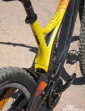 Devinci makes full use of the available width on the new Wilson Carbon