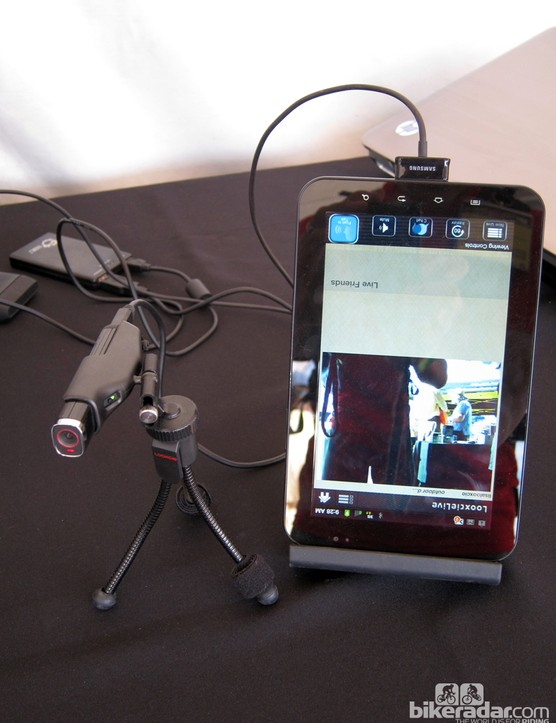 The Looxcie 2's video image can easily be streamed in real-time via the company's smartphone and tablet apps