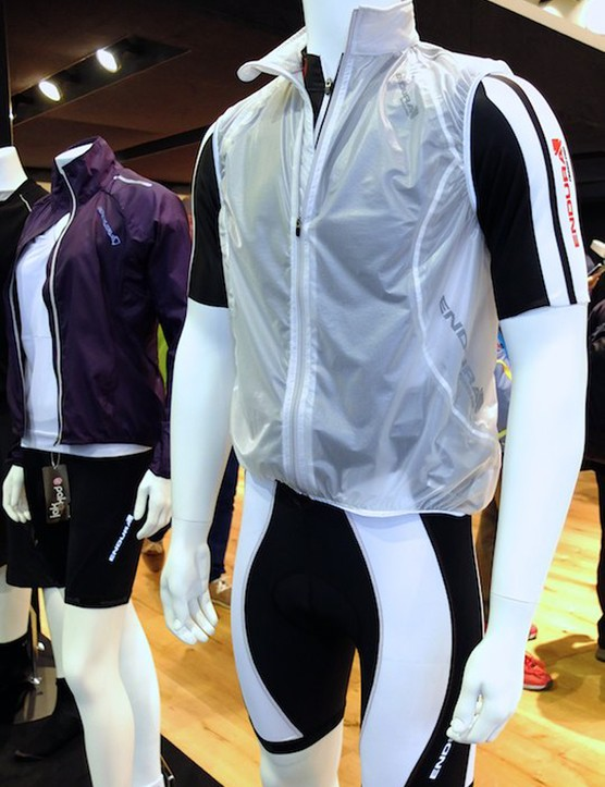 The Adrenaline Race Gilet is protective and transparent