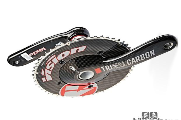 Vision TriMax TT Carbon crankset