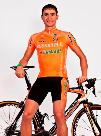 Victor Cabedo was in his first season at Euskaltel-Euskadi