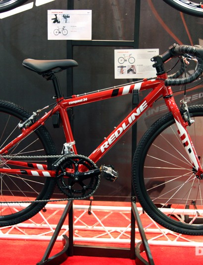 Redline's Conquest 24 is an appealing option for junior 'cross racers