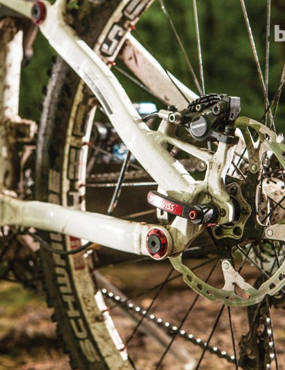 Shimano XT brakes are great in any condition