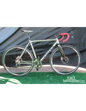 Litespeed launched titanium cyclocross bikes last year. Now they're launching titanium disc-brake cyclocross bikes