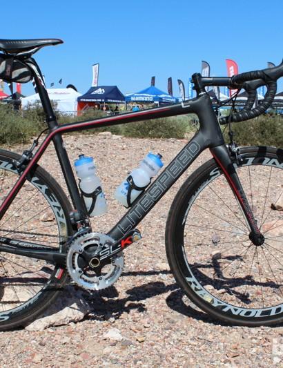 This is the personal Li2 bike of Litespeed's Ryan Barrett