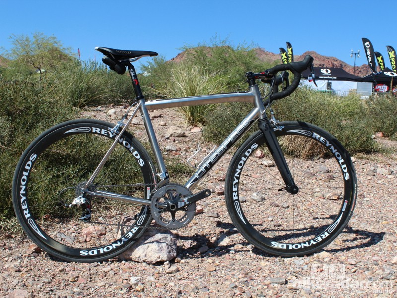 The new T1 looks like the company's previous Archon bike, but Litespeed says it's an entirely new machine