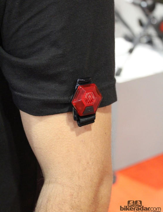 True to its name, the Mars Magnetic uses strong magnets to clamp onto clothes, bags or other surfaces