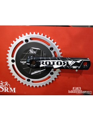 SRM's track power meter will be available with Rotor crank arms for 2013