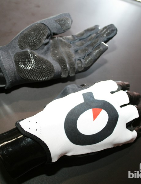 Prologo's CPC material on a pair of long-fingered gloves, which they plan to release later this year