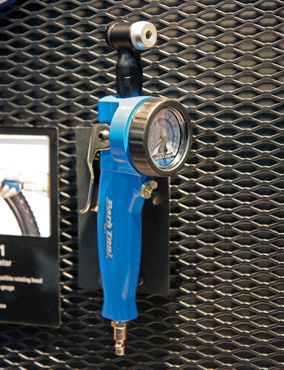 Park Tool's INF-1 Shop Inflator definitely had some struggles coming to market last year but Park says it's finally ready for production