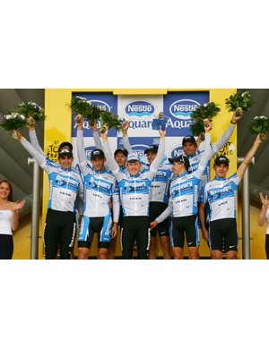 Discovery Channel rode the fastest ever TTT at the 2005 Tour de France