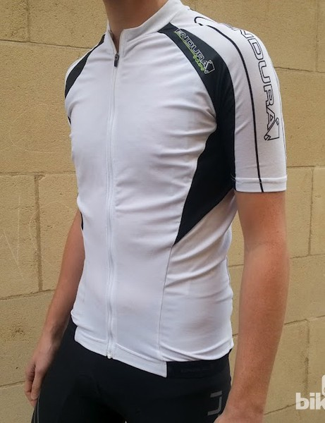 The Endura Equipe also comes in black, red and green
