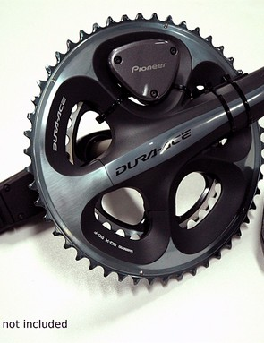 Pioneer's new power meter system: SGY-PM900 Pedaling Monitor Sensor and SGX-CA900 Athlete Cyclocomputer