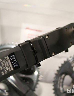 The sensors are attached to each crank