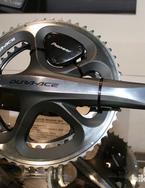 The Pioneer power meter will only work with Dura Ace cranks at this stage