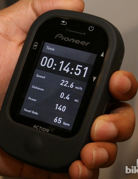 Pioneer were also showing their new navigation computer, the PotterNavi, at Interbike