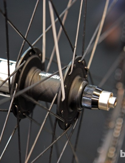 The American Classic TCX wheels are built around the company's less expensive Terrain hubs, to keep the price down