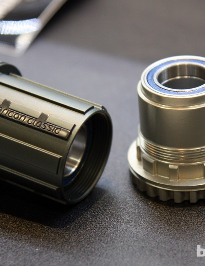 New for 2013 from American Classic are two new freehub bodies - one for Shimano's new 11-speed drivetrains and another for SRAM's XX1 group, both of which can be retrofitted to older hubs